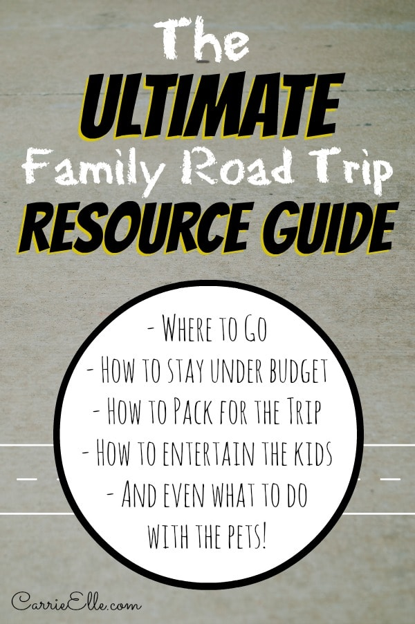 Family Road Trip Resource Guide