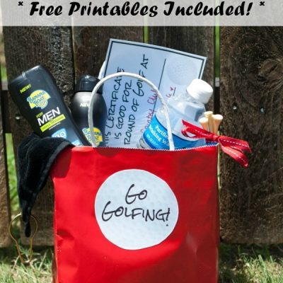 Golf Gift Ideas (Free Golf Printables, Too!)