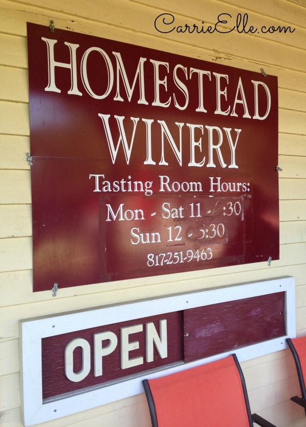 Grapevine Wine Tour Homestead Winery