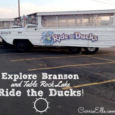 See Branson from a New Perspective: Ride the Ducks!