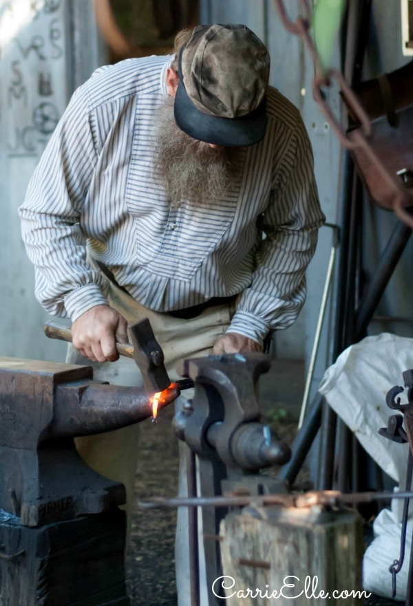 Silver Dollar City Blacksmith