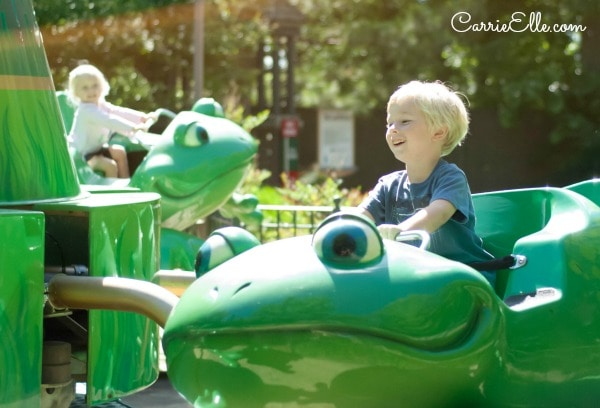 Silver Dollar City Happy Frogs