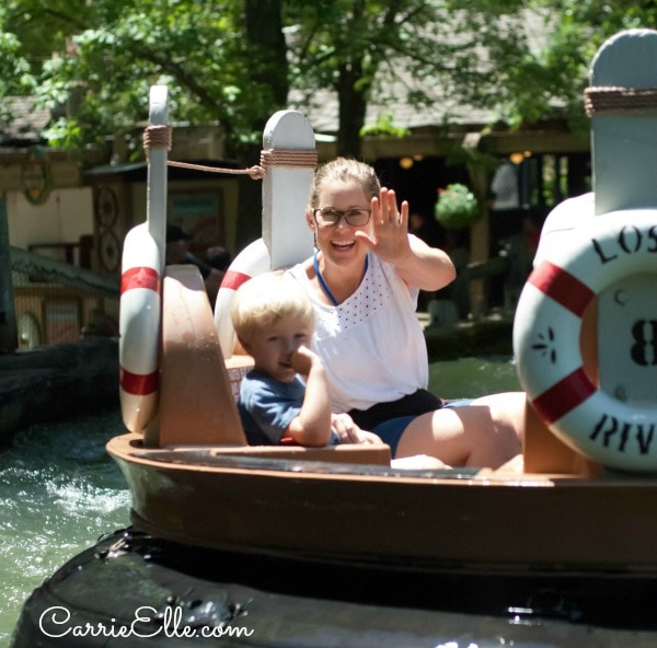 Silver Dollar City Lost River of the Ozarks