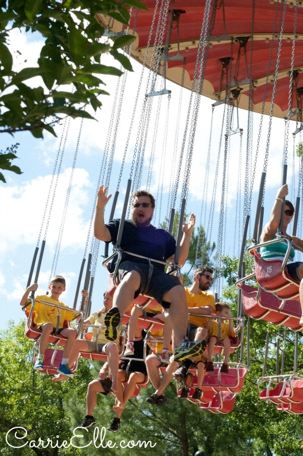 Swings at Silver Dollar City