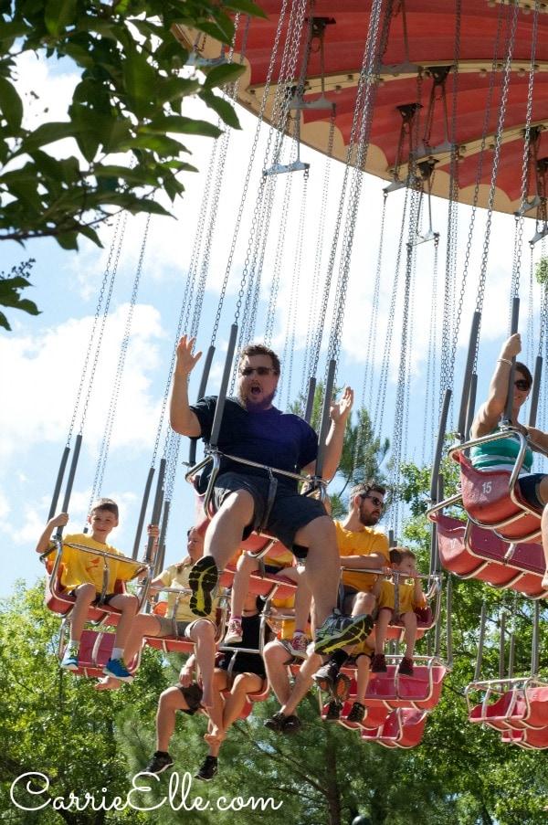 Swings at Silver Dollar City