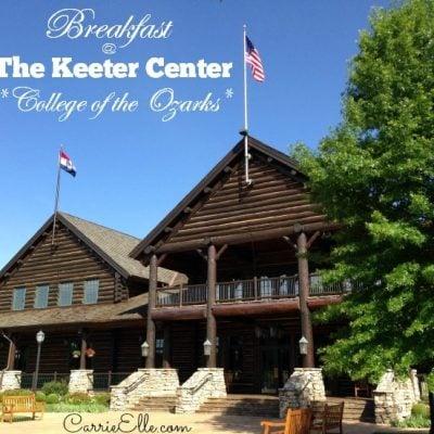 Enjoy Brunch at The Keeter Center at College of the Ozarks