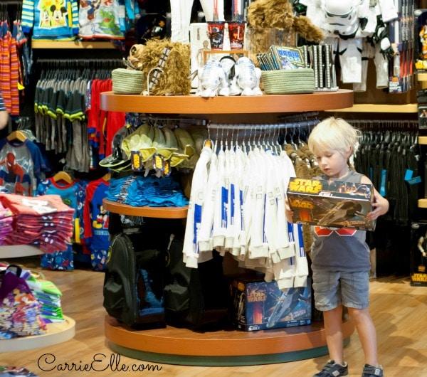 Disney Store Star Wars toys
