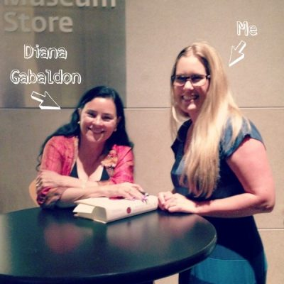 I Met Diana Gabaldon, and…Books You Need to Read