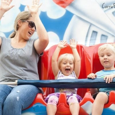 Tips for Visiting Six Flags with Little Kids