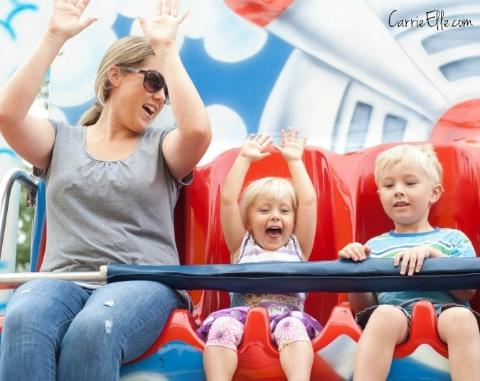 Six Flags Rides for Kids
