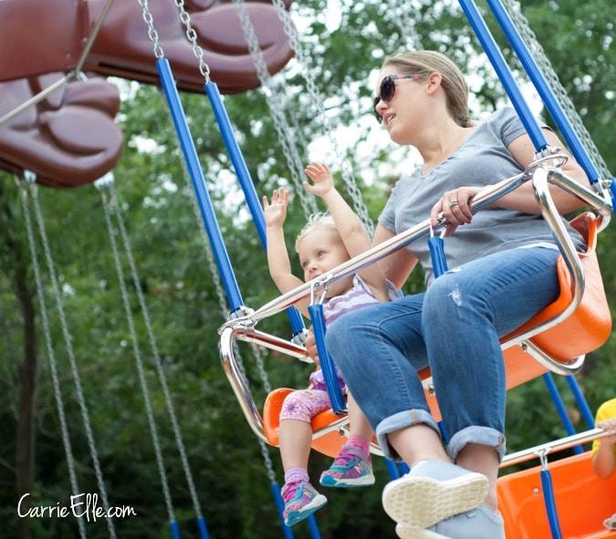 Six Flags Swings for Kids