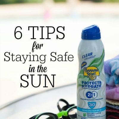 6 Sun Safety Tips