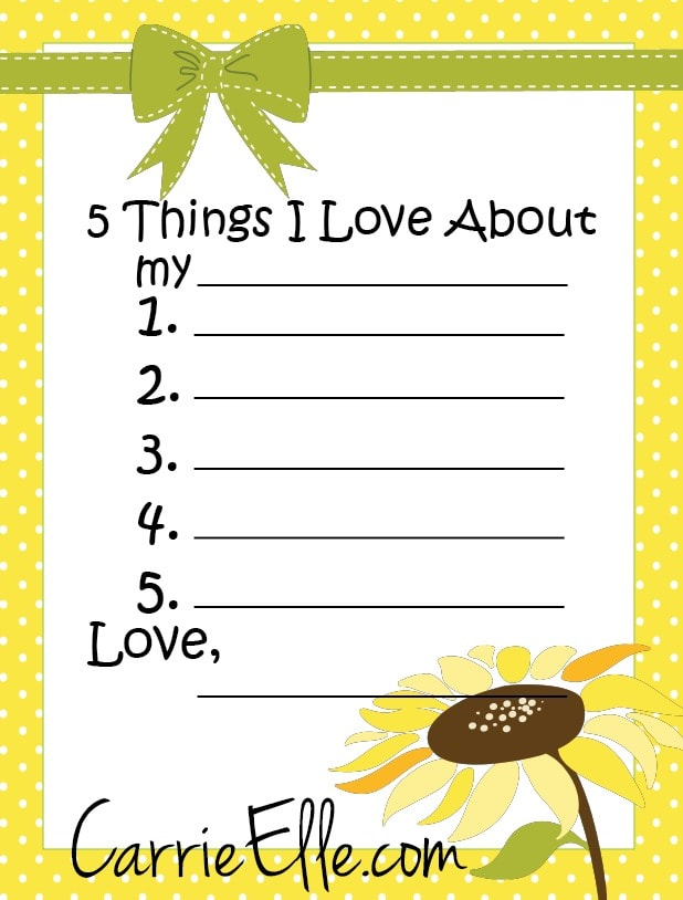 It's easy and fun to make these cute little reminders of why we love ...