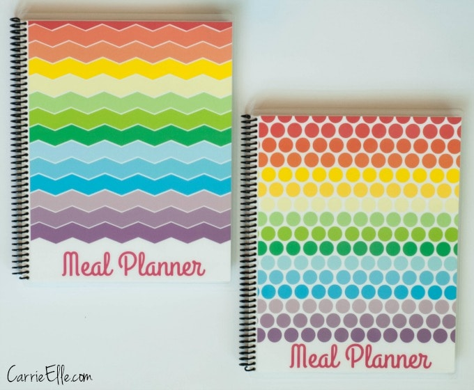 Rainbow Meal Planners