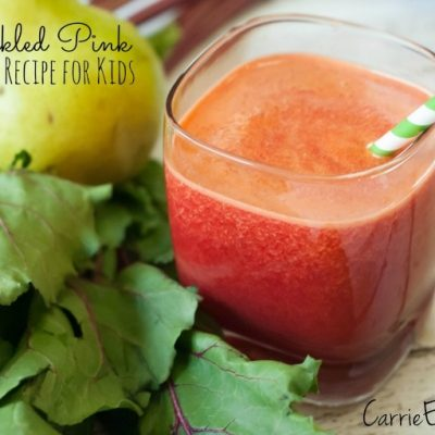"""Tickled Pink"" Kid-Friendly Juice Recipe"