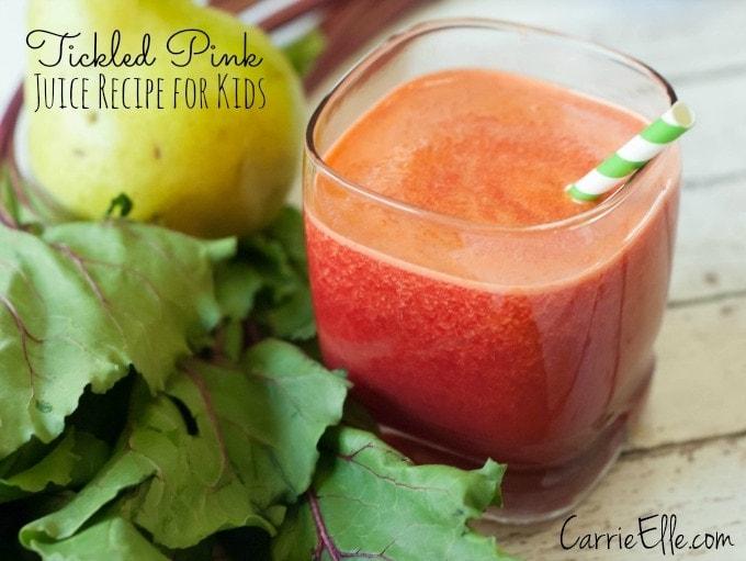 Tickled Pink Beet Juice for Kids