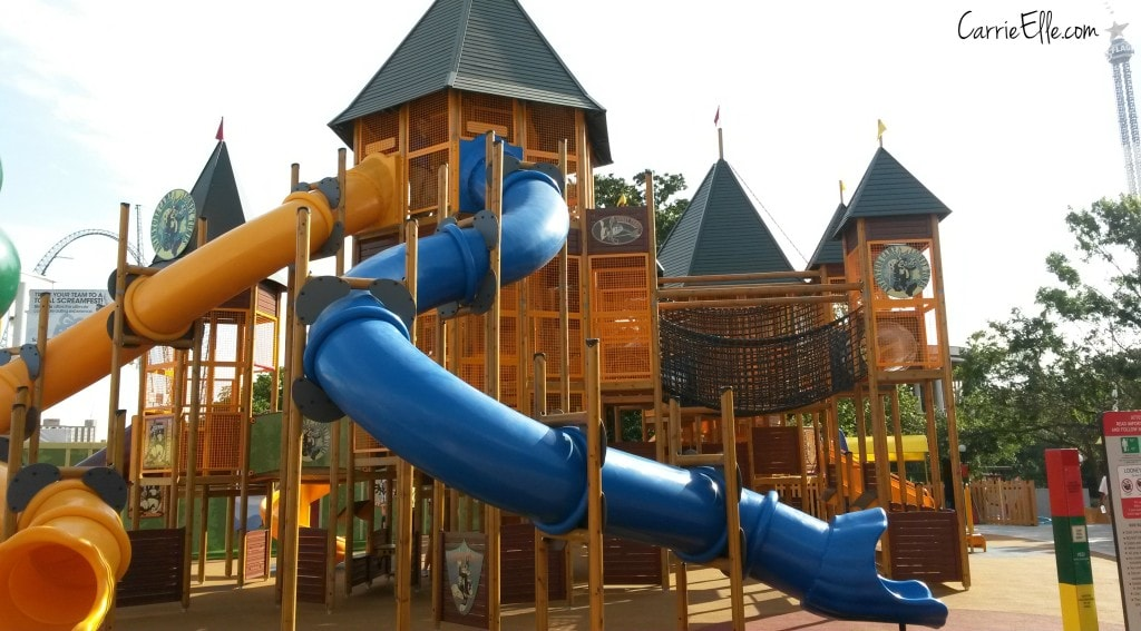 BoomTown Play Structure