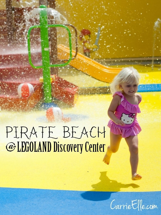 Pirate Beach at Legoland Discovery Center