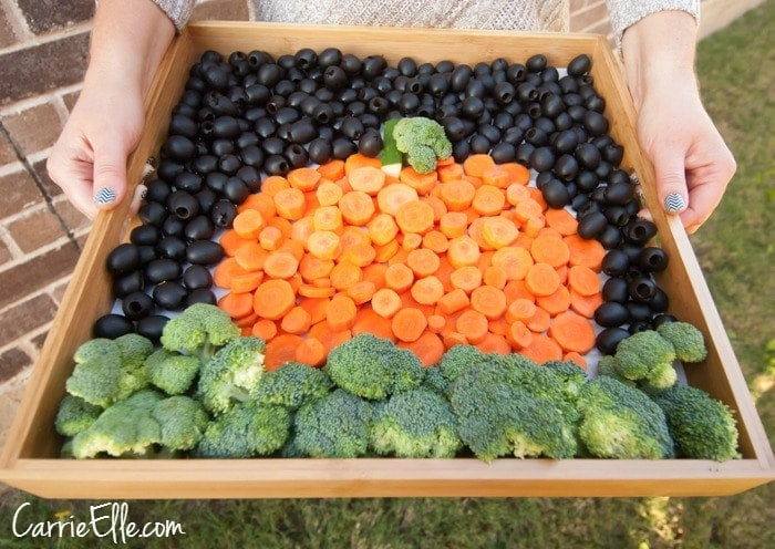 California Olives Creative Veggie Tray