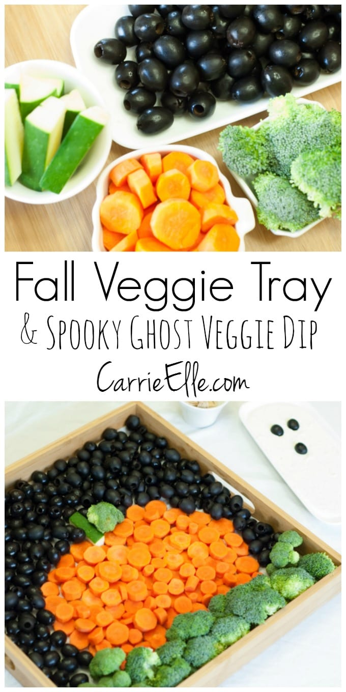 California Olives Fall Veggie Tray Idea