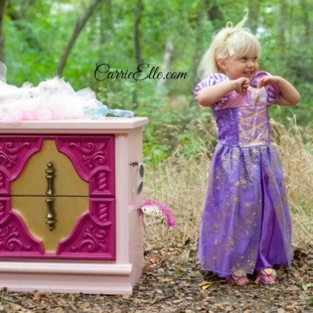 DIY Sleeping Beauty Dresser #DisneyBeauties #shop
