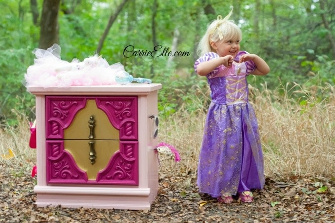 DIY Sleeping Beauty Dresser #DisneyBeauties #shop