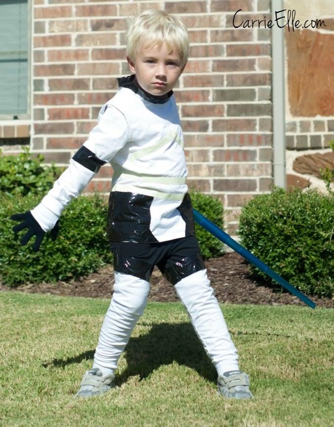Stormtrooper no-sew costume #shop