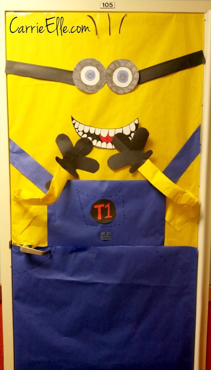 TLC Schools Minion Door
