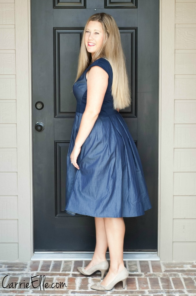 eShakti Pleated Dress