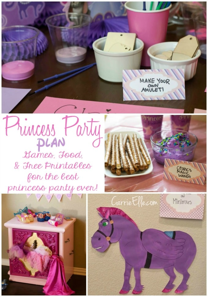 Disney Princess Party Plan