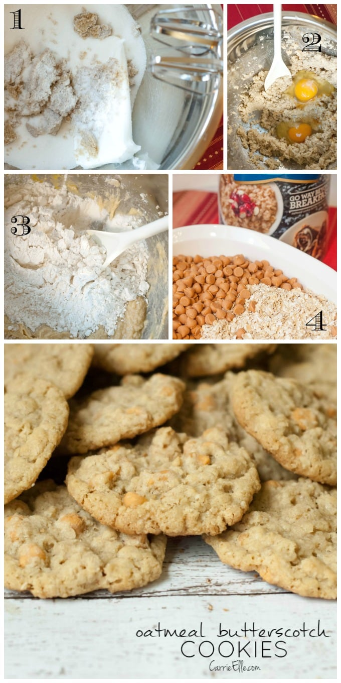 How to make Oatmeal Butterscotch cookies