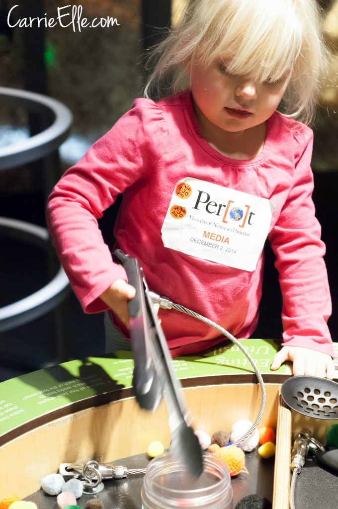 Kid Activities at Perot Museum