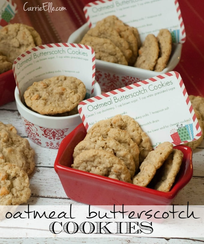 Oatmeal Butterscotch Cookie Recipe