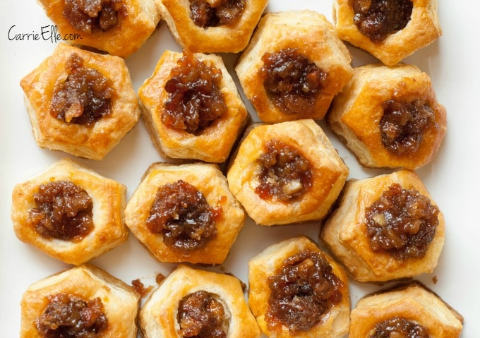 Pecan Pie Puff Pastries
