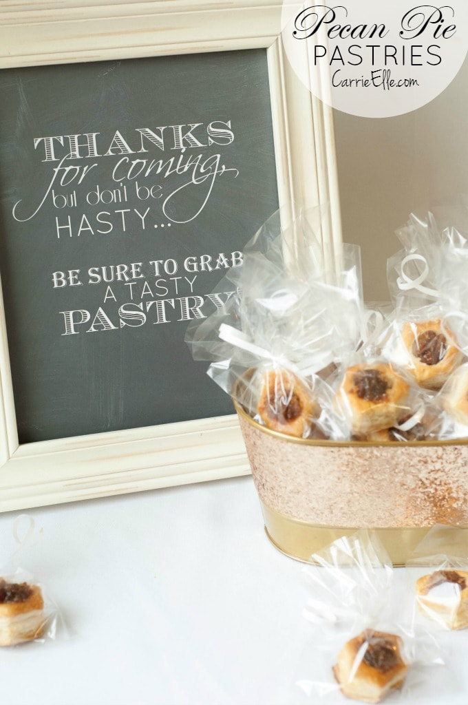 Pecan Pie Puff Pastry