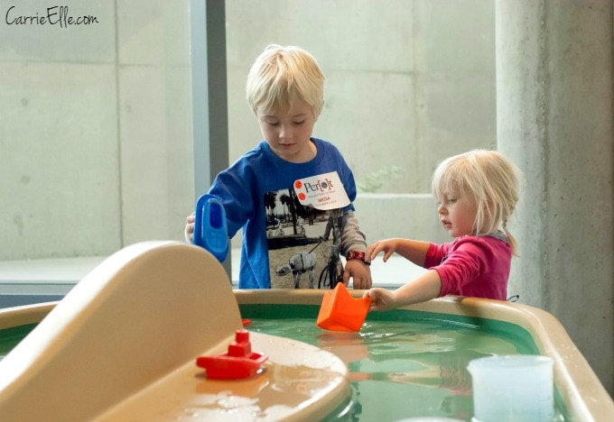 Perot Museum Water Table