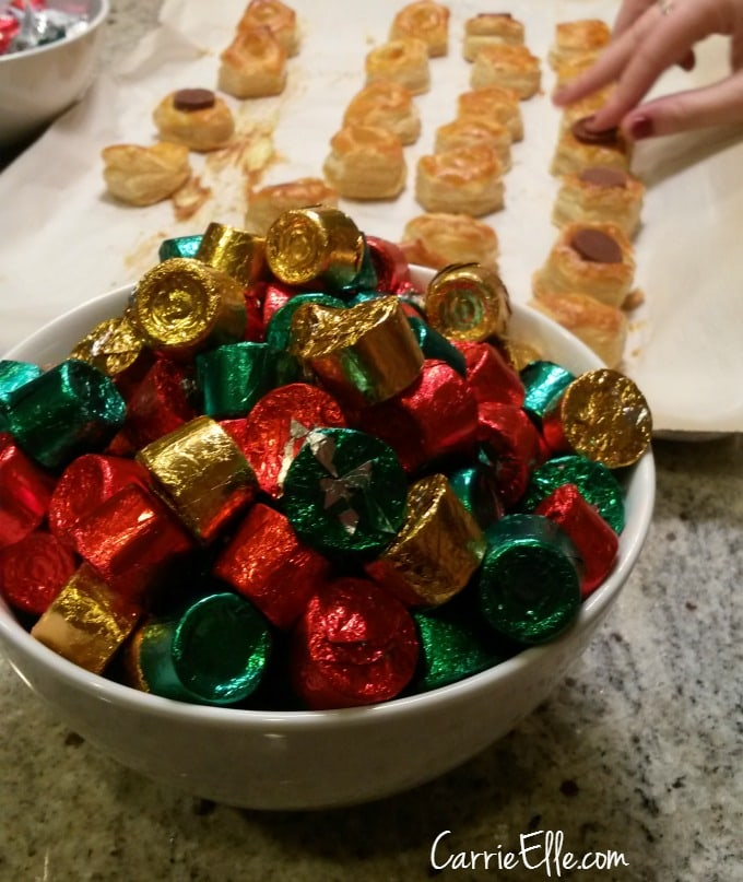 Puff Pastry with Rolos