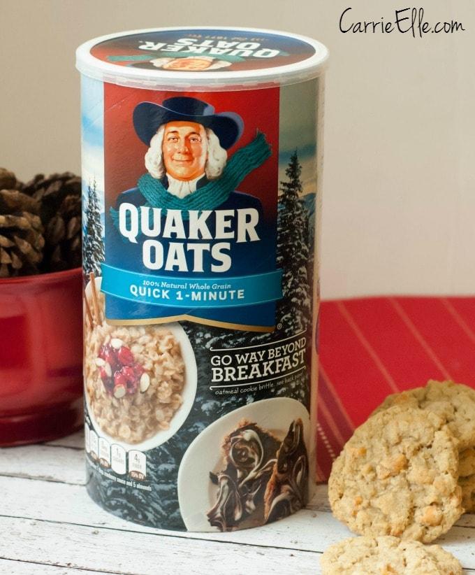 Quaker Oats Winter Packaging