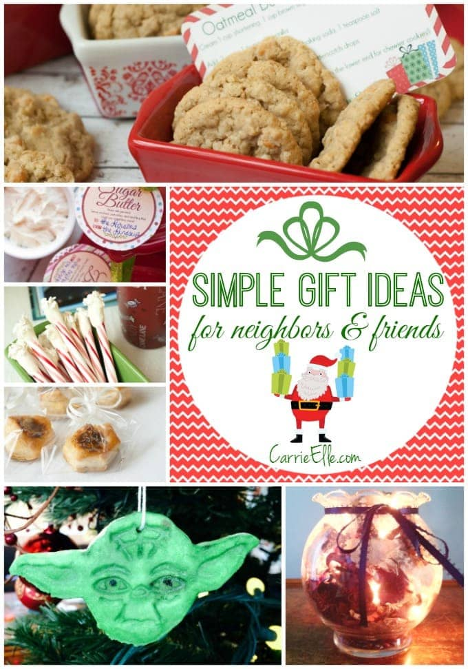 Super Simple Gift Ideas for Neighbors and Friends - Carrie Elle