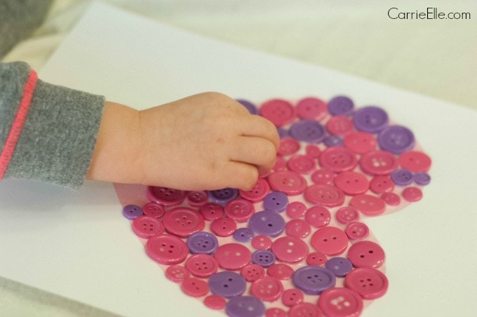 Button Craft for Kids
