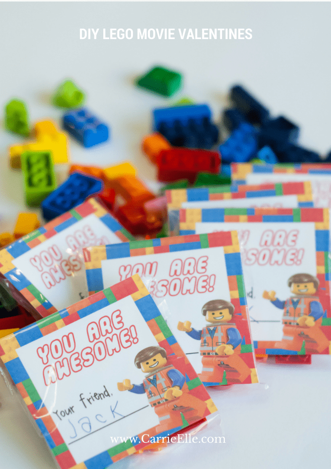 DIY LEGO Movie Valentines