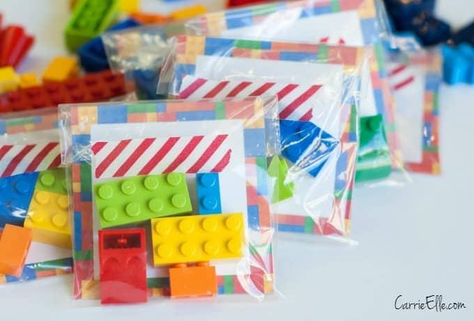 DIY LEGO Valentine Idea