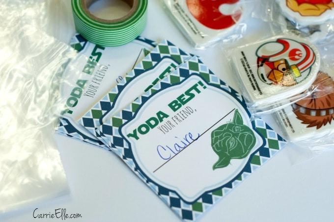 DIY Yoda Valentines