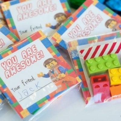 DIY LEGO Movie Valentines with Free Printable