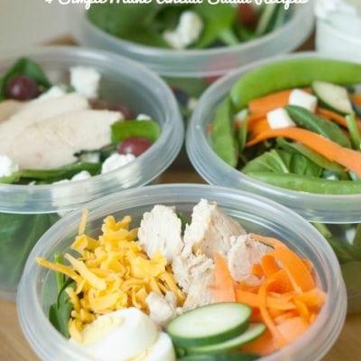 Homemade Salad Dressing & Easy Make-Ahead Salad Recipes