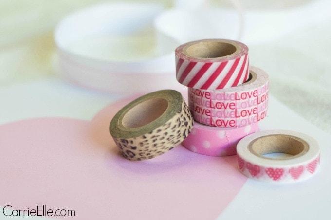 Valentines Day Washi Tape