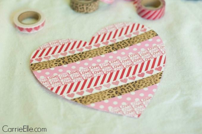 Washi Heart Craft