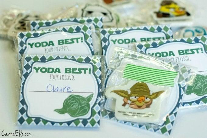 Yoda Valentines