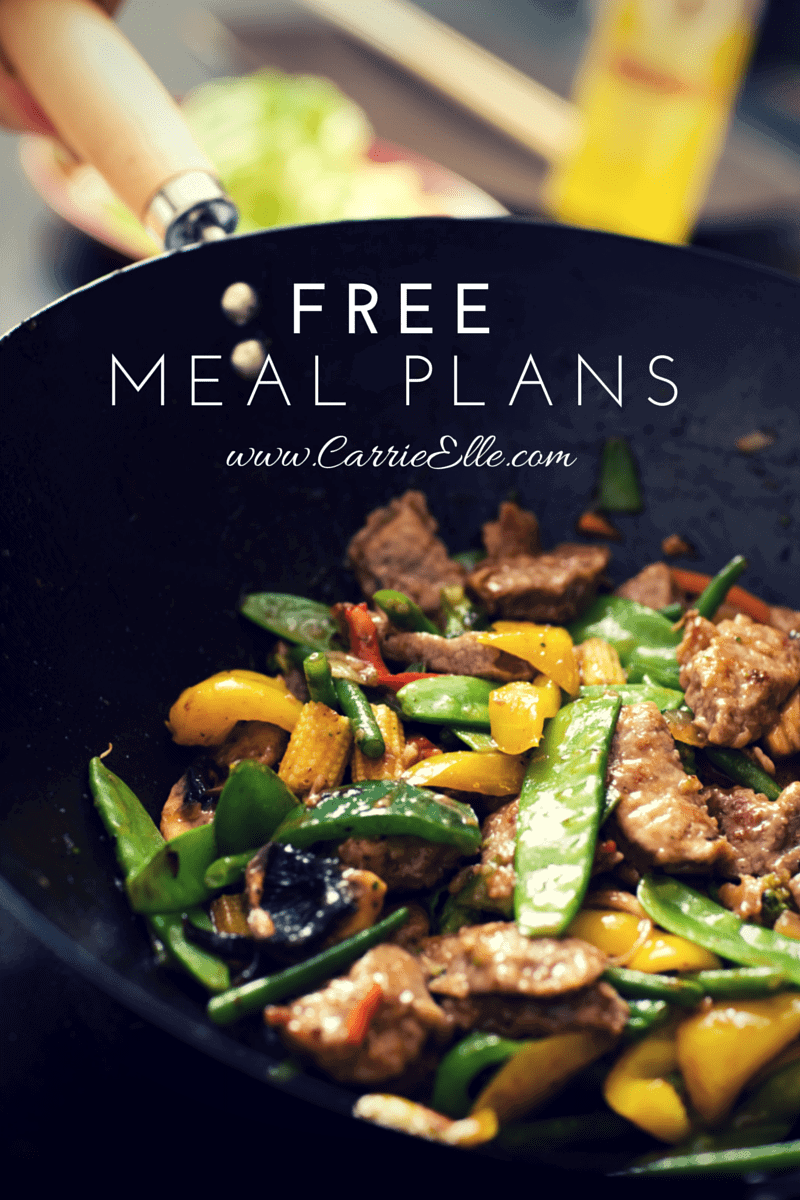 Free Meal Plans