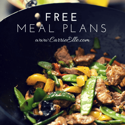 Weekly Meal Plan and Free Meal Planning Printables